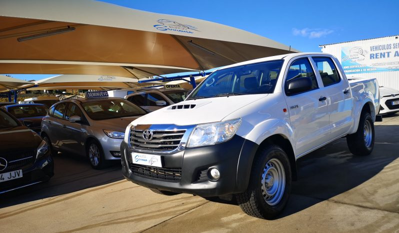 TOYOTA HILUX 2.5 D4D, 2016 completo